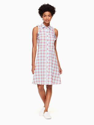 Kate Spade Madras poplin dress