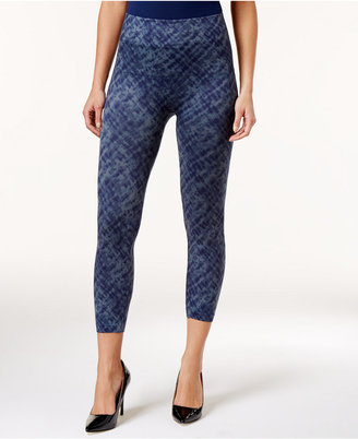 Spanx Women's Cropped Printed Seamless Leggings $68 thestylecure.com