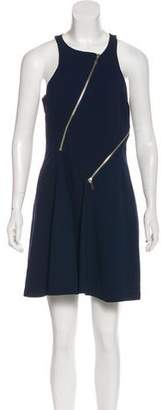 Rebecca Minkoff Zip-Accented Mini Dress w/ Tags