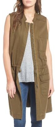 Women's Hinge Drapey Utility Vest $89 thestylecure.com