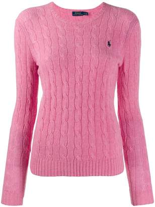 Polo Ralph Lauren cable knit long sleeve jumper