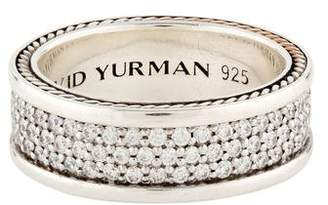 David Yurman Streamline Diamond Pavé Three Row Band