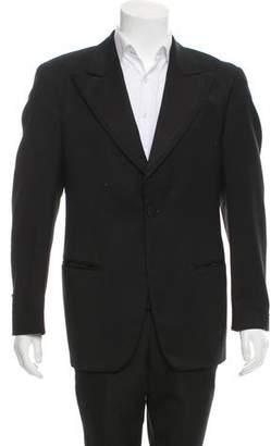 Dolce & Gabbana Virgin Wool Tuxedo Jacket