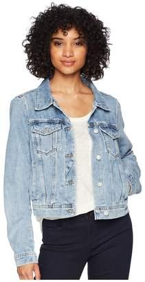 Free People Rumors Denim Jacket Women's Coat
