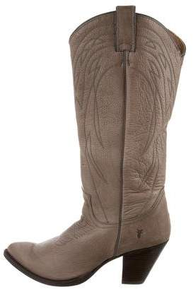 Frye Mid-Calf Cowboy Boots