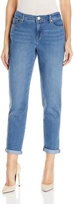 Gloria Vanderbilt Women's Monica-Roll-Cuff Ankle Jean