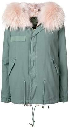Mr & Mrs Italy fur-trim parka jacket