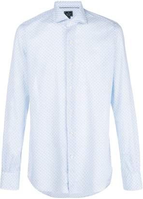 Orian optical print shirt