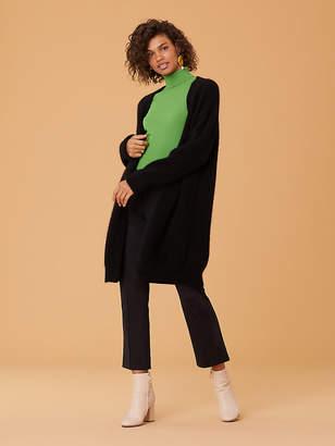 Diane von Furstenberg Long Sleeve Cardigan