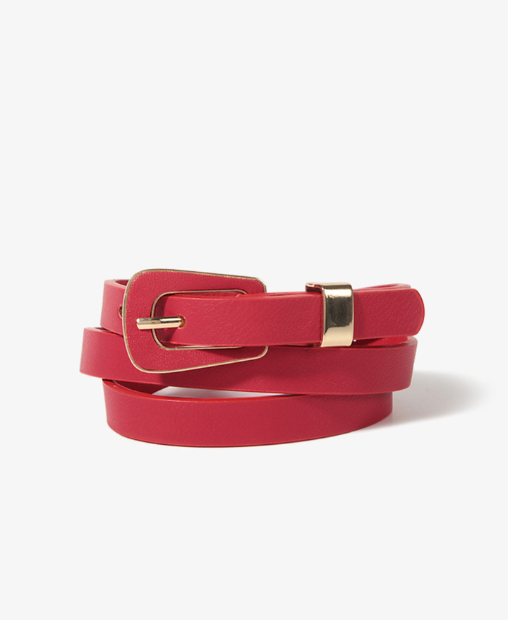 FOREVER 21 Metal Trim Waist Belt