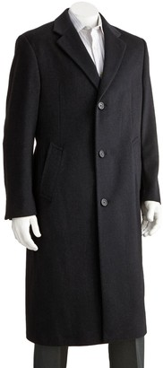 Jean Paul Gaultier Germain Men's Jean-Paul Germain Classic-Fit 45-in. Wool-Blend Top Coat