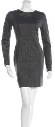 Yigal Azrouel Cut25 by Long Sleeve Embellished Dress w/ Tags