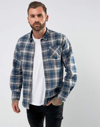 Brave Soul Brushed Checked Shirt