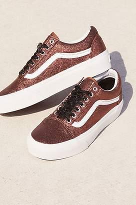 Vans Old Skool Glitter Platform Sneaker