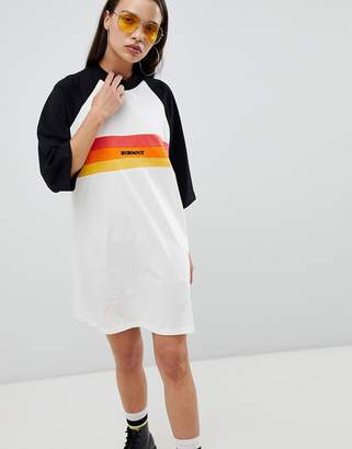 The Ragged Priest oversize t-shirt dress with slogan