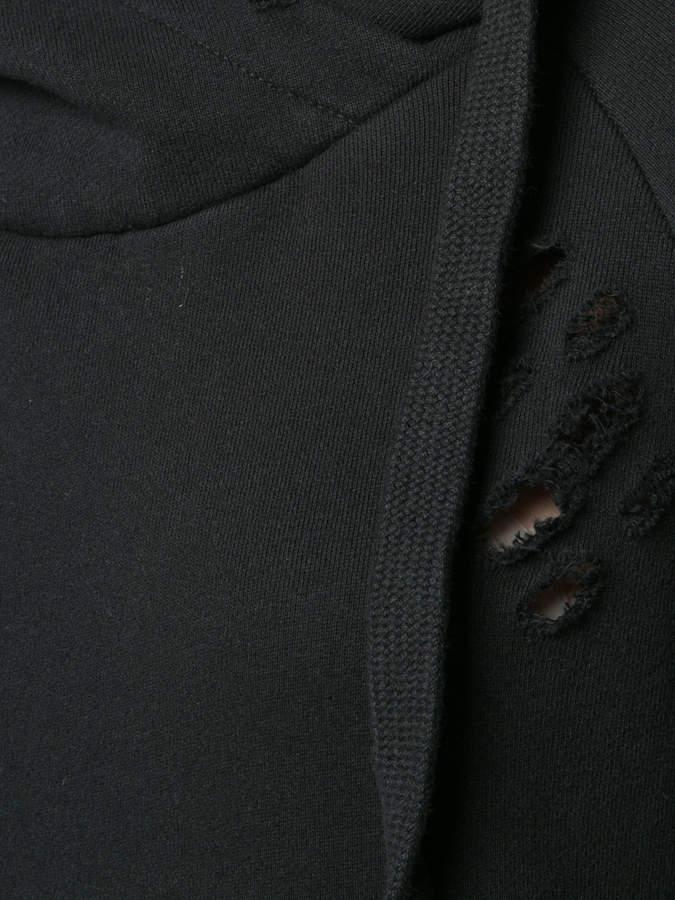 NSF distressed hoodie