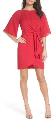 Adelyn Rae Abbey Faux Wrap Dress