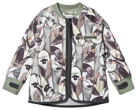 Camouflage Skateboard Ulas Soft Shell Jackets