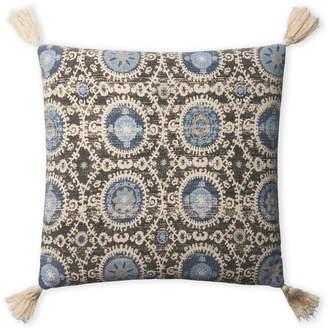 Loloi Multicolor Tassel Pillow