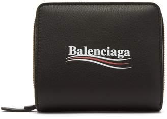 Balenciaga Everyday bi-fold logo wallet