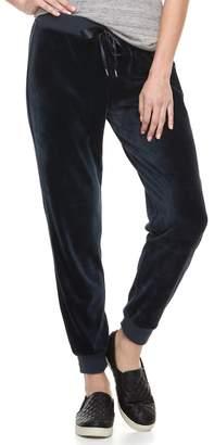 Juicy Couture Women's Supersoft Velour Jogger Pants