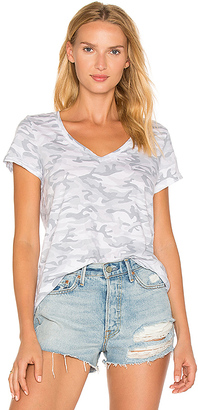 Michael Stars Camo Tee in White. $68 thestylecure.com