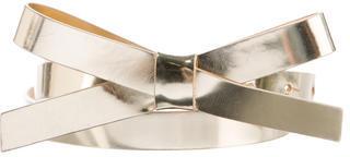 Kate SpadeKate Spade New York Metallic Bow Belt