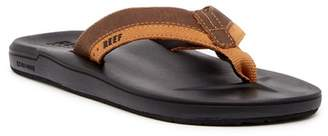 Reef Contour Cushion Leather Flip Flop (Men)