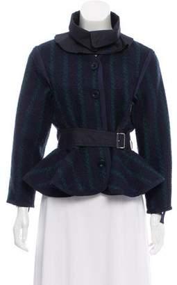Sacai Luck Casual Knit Jacket