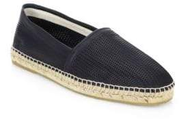 Giorgio Armani Perforated Leather Espadrille