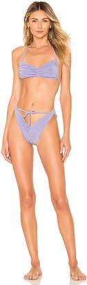 Norma Kamali Butterfly Bikini Set