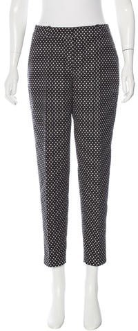 Kate Spade New York Cropped Polka Dot Pants