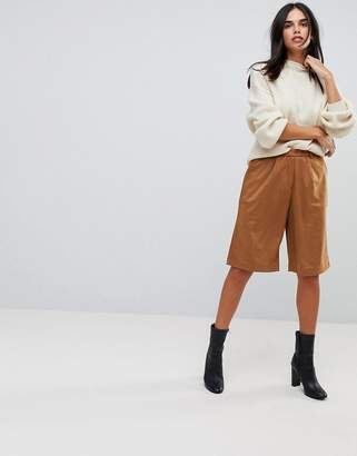 Glamorous Faux Suede Culottes