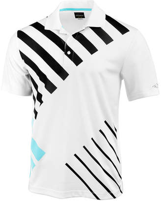 Greg Norman for Tasso Elba Men's Abstract Striped Polo, Created for Macy's