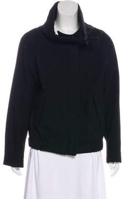 Dries Van Noten Wool Zip-Up Jacket