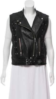 IRO Winter 2016 Leather Vest w/ Tags