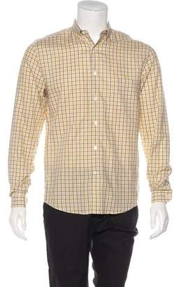 Ami Alexandre Mattiussi Linen-Blend Dress Shirt