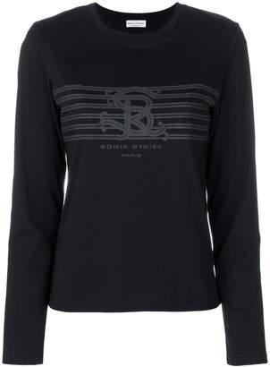 Sonia Rykiel logo print T-shirt