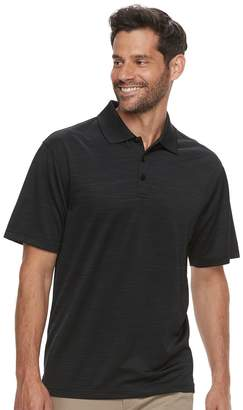 Haggar Big & Tall Cool 18 Pro Regular-Fit Space-Dye Performance Polo
