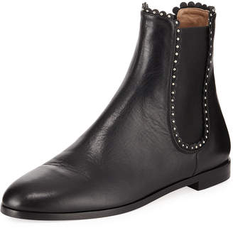 Aquazzura Catroux Studded Flat Booties