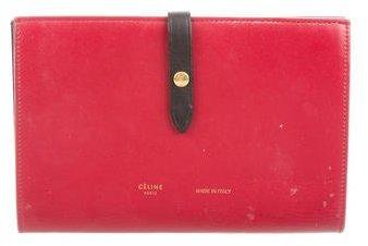 Céline 2016 Large Multifunction Strap Wallet