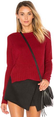 Autumn Cashmere Crew Neck Sweater $297 thestylecure.com
