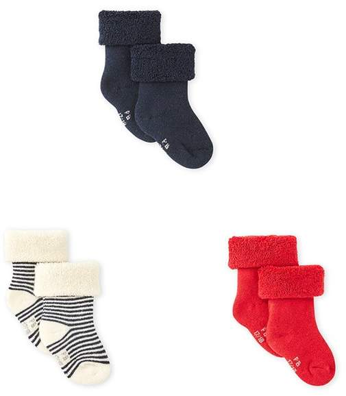 Set Of 3 Pairs Of Baby Boys Socks