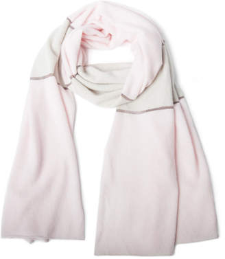 Portolano Cashmere Striped Oblong Scarf