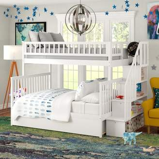 LOFT Viv + Rae Shyann Twin Over Full Bunk Bed with Trundle