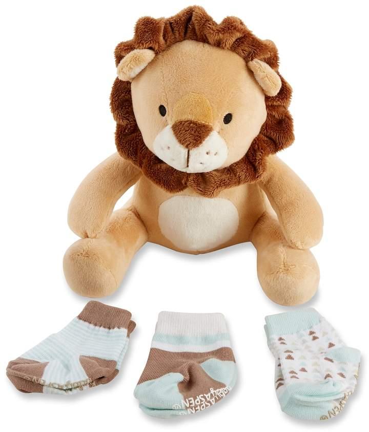 Ryan the Lion Plus Plush Socks Set