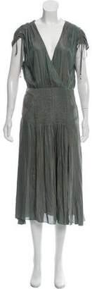 Veronica Beard Flash Pleated Dress w/ Tags