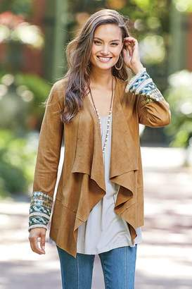 Soft Surroundings Embellished Ultra Soft Cardi