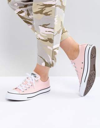 Converse Chuck Taylor All Star low trainers in pink