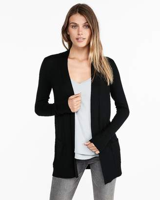 Express Wide Placket Cardigan